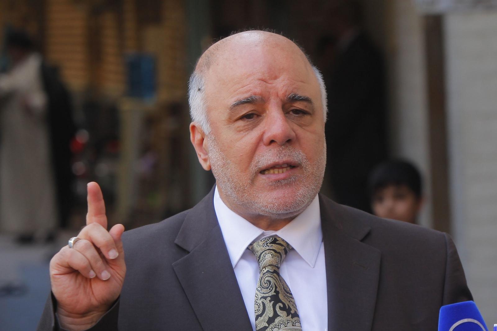 Iraqi PM Haider al-Abadi in Iran for Isis talks