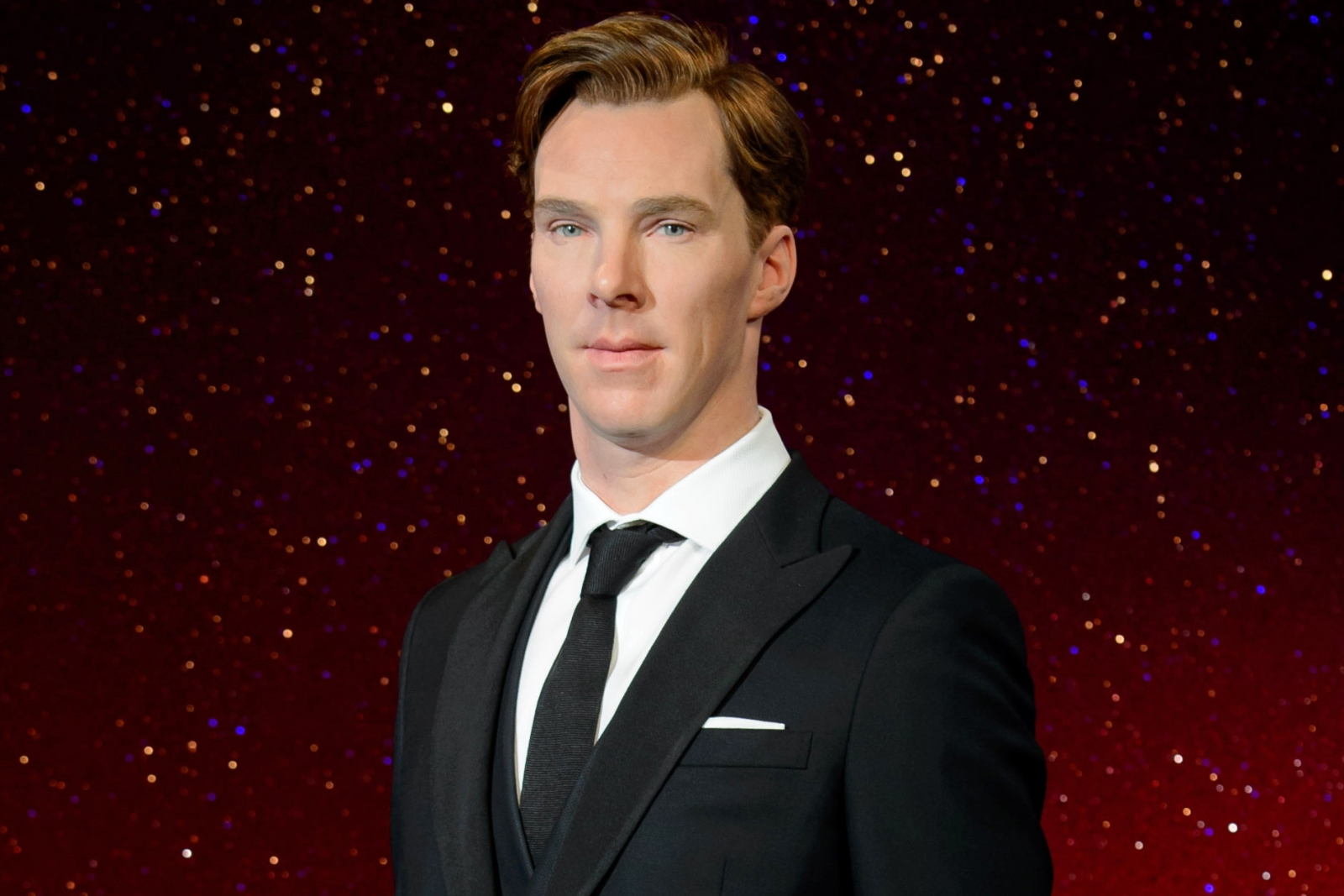 Cumberwax: The new Benedict Cumberbatch wax figure has been unveiled today by Madame Tussauds London