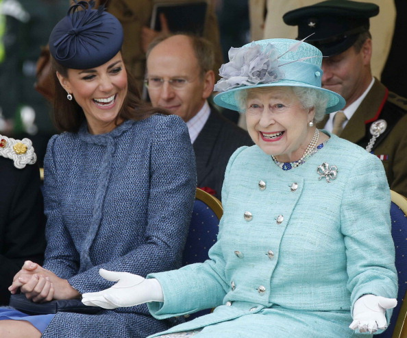 Kate Middleton and Queen