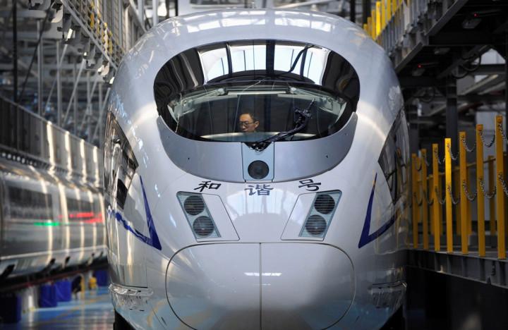 China's Harmony Bullet Train