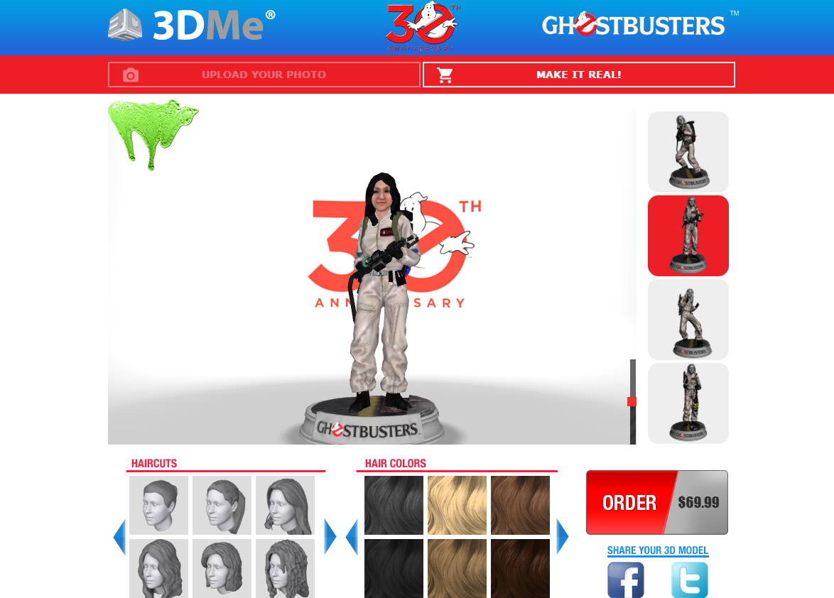 IBTimes UK's Mary-Ann Russon as a miniature 3D-printed Ghostbuster figure