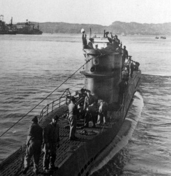 The German U-Boat 576 submarine, sunk in 1942, has been found of the coast of North Carolina