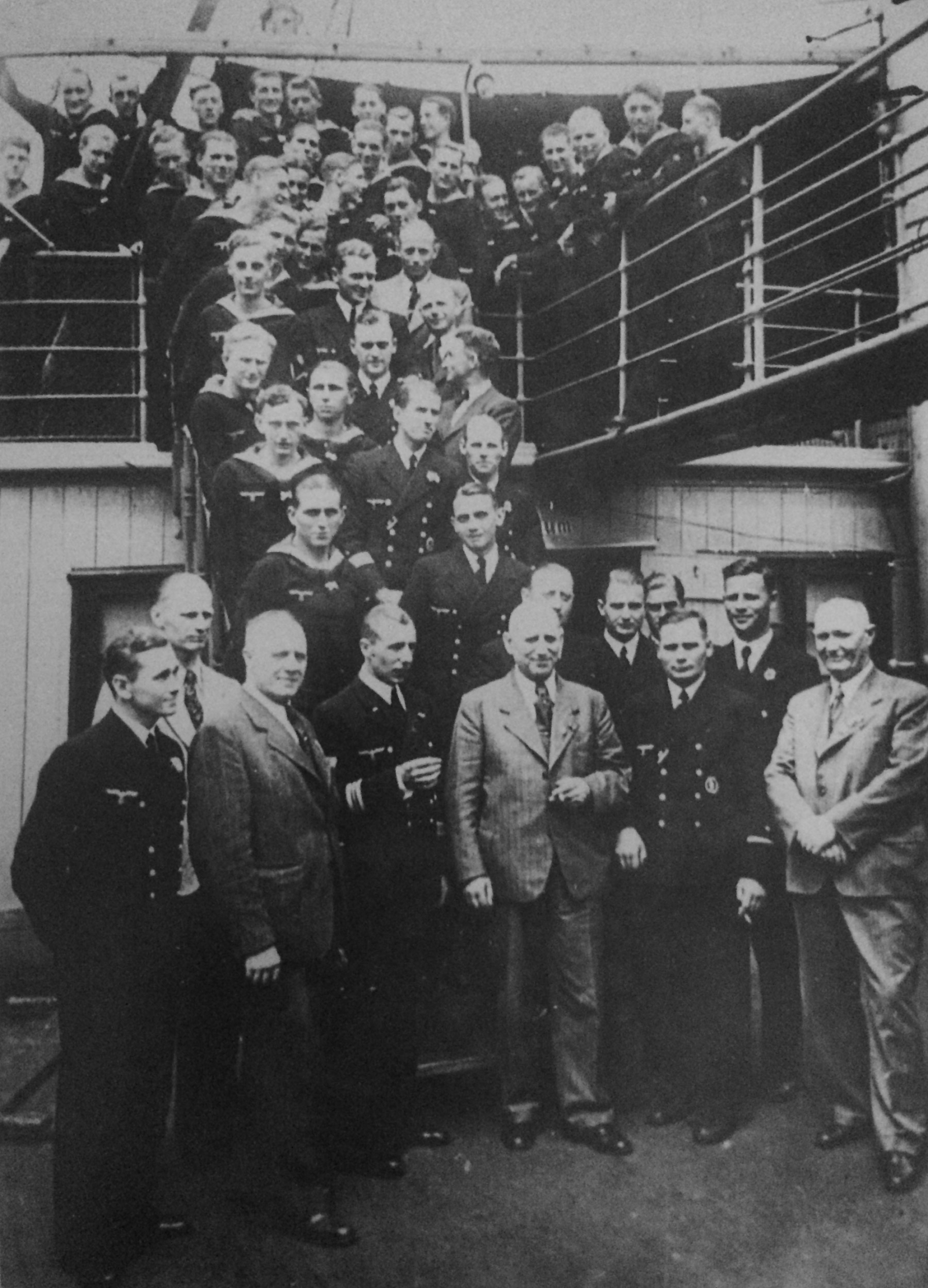 The crew of the U-576 submarine