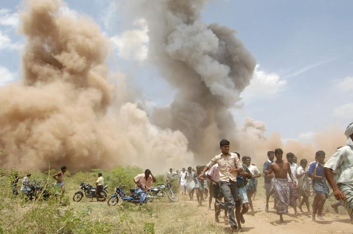 FIREWORKS EXPLOSION
