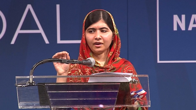 Malala Calls for the Release of Missing Nigerian Girls