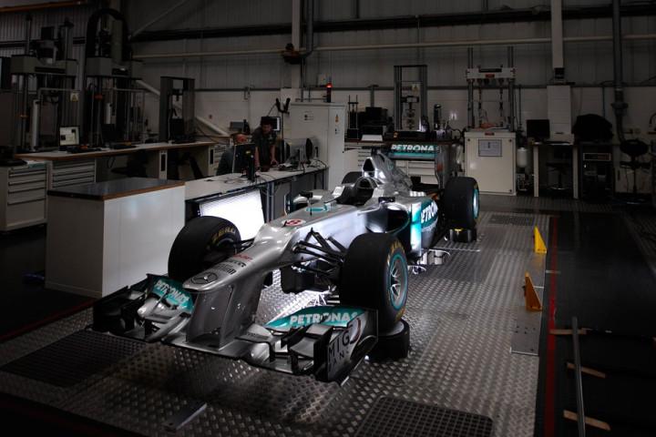 Mercedes AMG Factory Car Bay