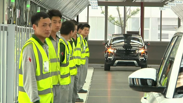 Jaguar Land Rover Opens its First Overseas Factory in China