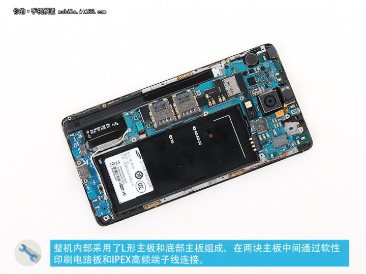 Galaxy Note 4 Teardown Confirms Use of 16-Megapixel Sony IMX240 Camera Sensor