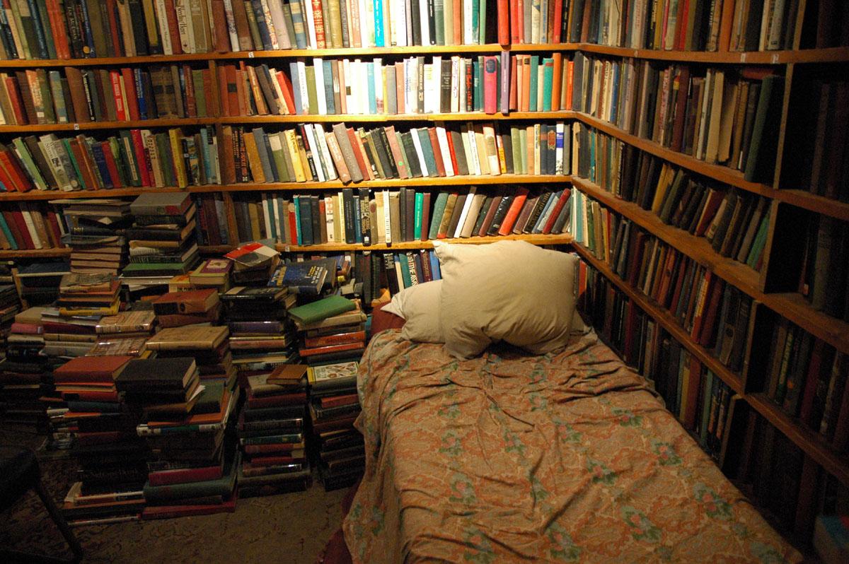 waterstones airbnb bookshop sleepover