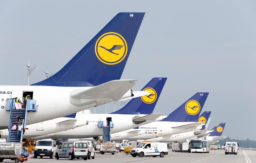 Lufthansa Jets