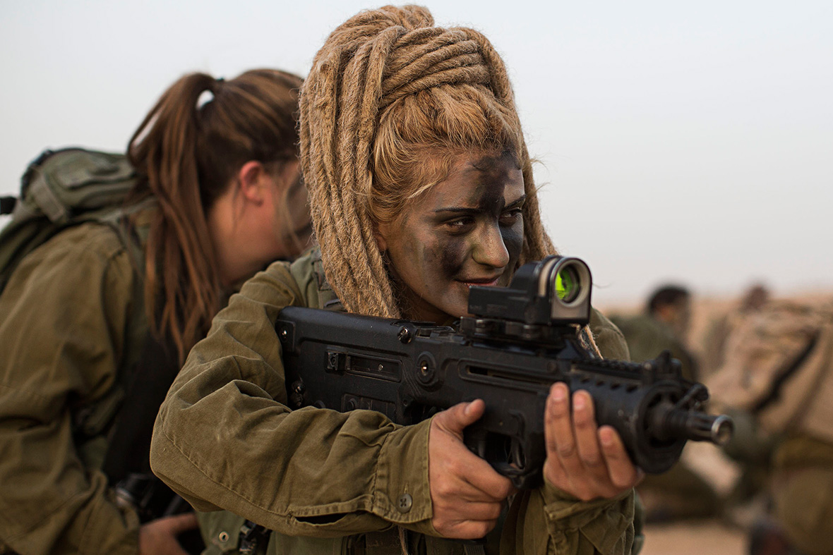 Israel mostly female Caracal battalion
