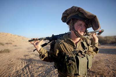 Israel mostly female Caracal battalion