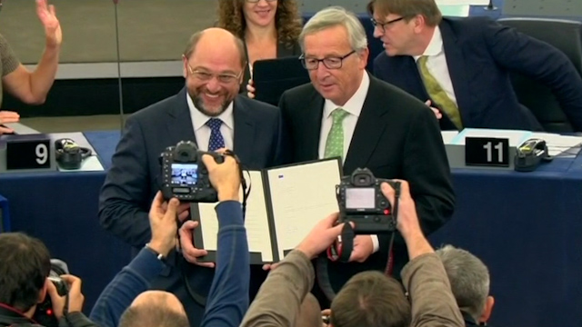 EU Commission Led by Juncker Approved by Parliament