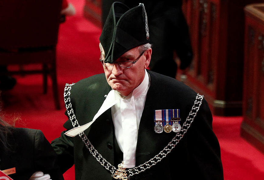 Kevin Vickers Canada Sergeant