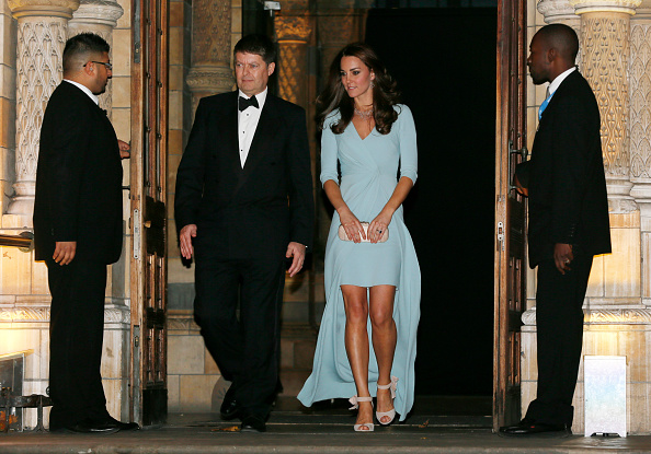 Kate Middleton Turns Up The Glamour At Wildlife
