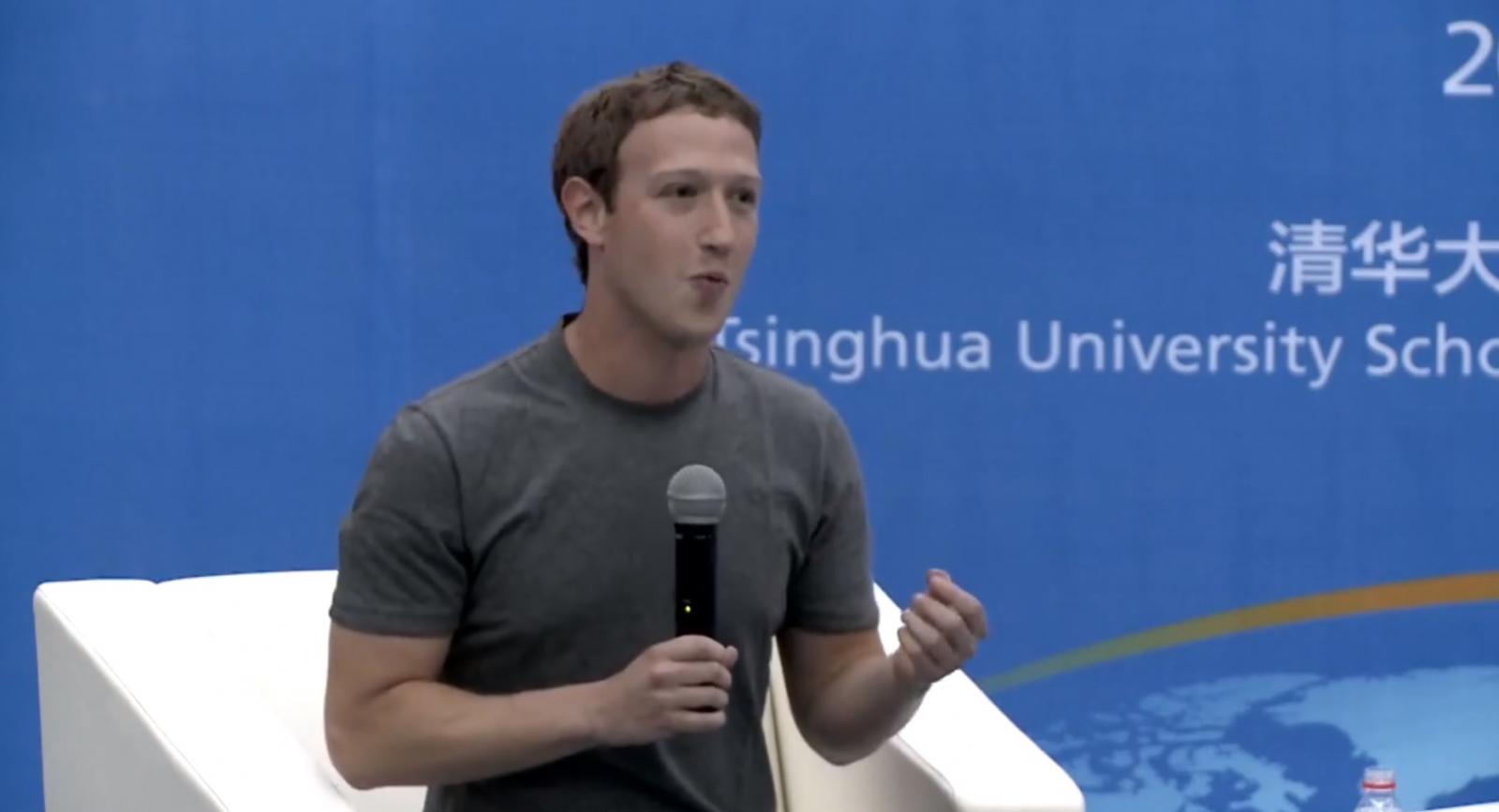 Mark Zuckerberg Chinese Mandarin Facebook