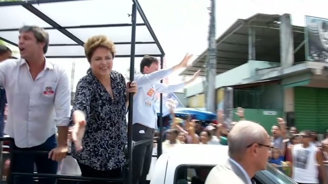 Economic Optimism helps Brazil's Rousseff Maintain Lead