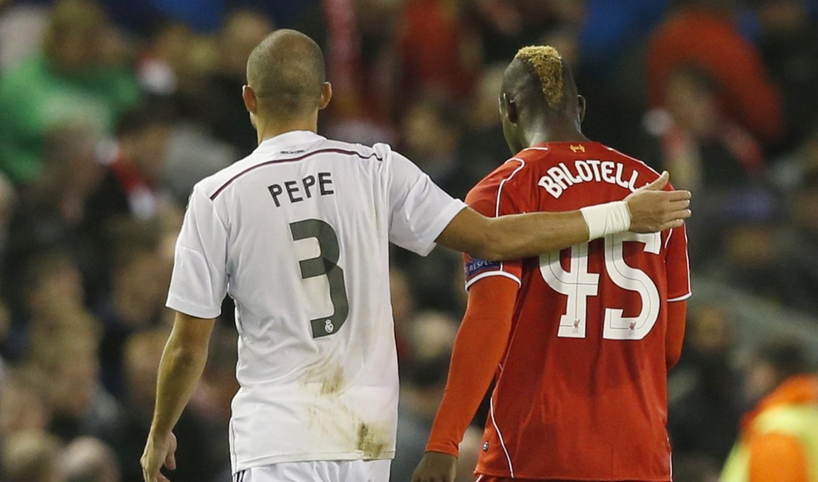Pepe and Mario Balotelli