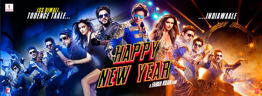 shahrukh Khan Happy New Year