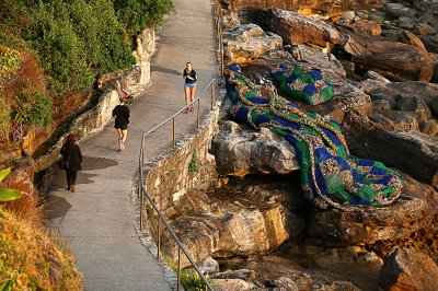 sculpture by the sea sydney Kerrie Argent