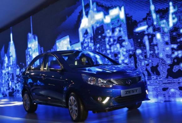 Tata Zest being launched