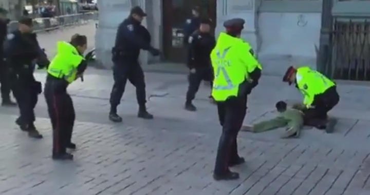 Man arrested at National War Memorial in Ottawa