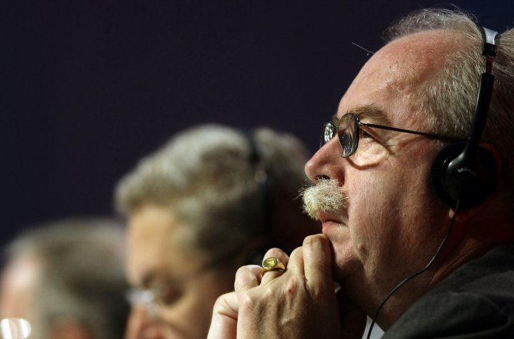 Total Oil CEO Christophe de Margery, killed in a Moscow aircrash. (Reuters)