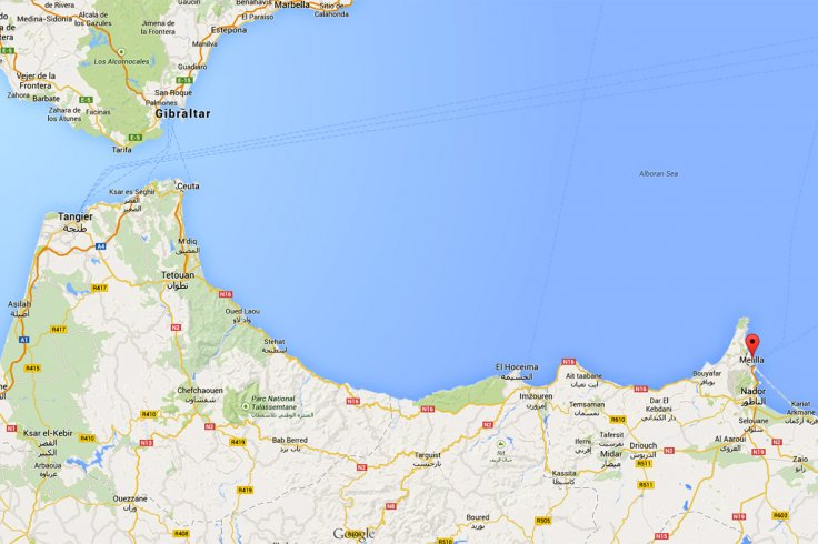 Melilla Spain Map.Spanish Police Arrest Four Suspected Terrorists