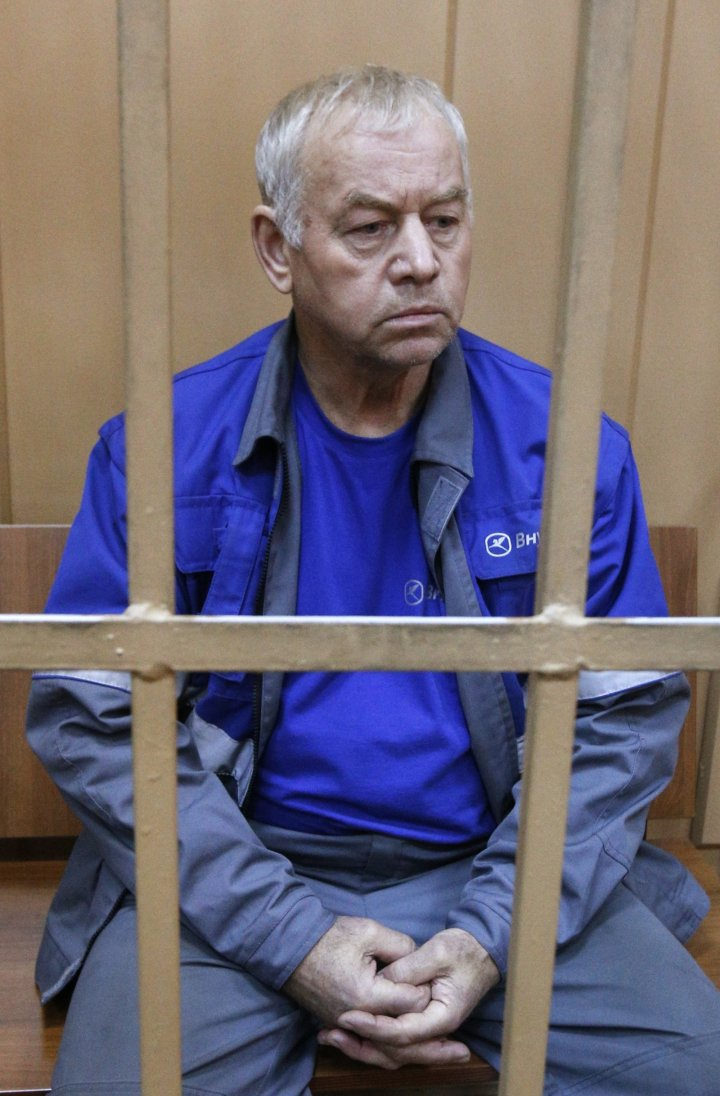 Vladimir Martynenko, driver of the snow plough which killed de Margerie after his arrest. (Reuters)