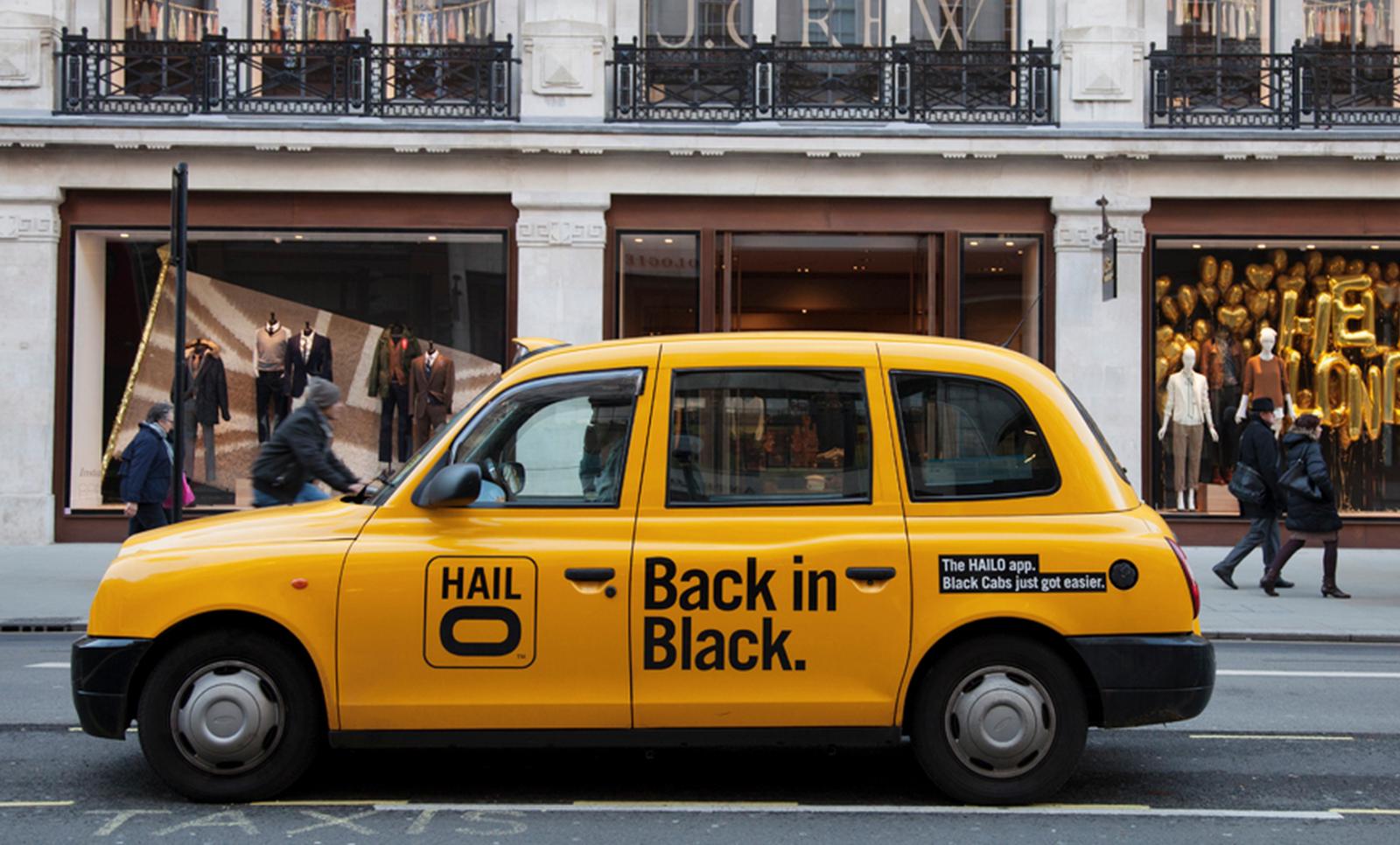 Hailo cab