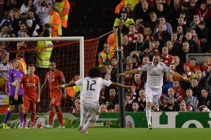 Liverpool defenders