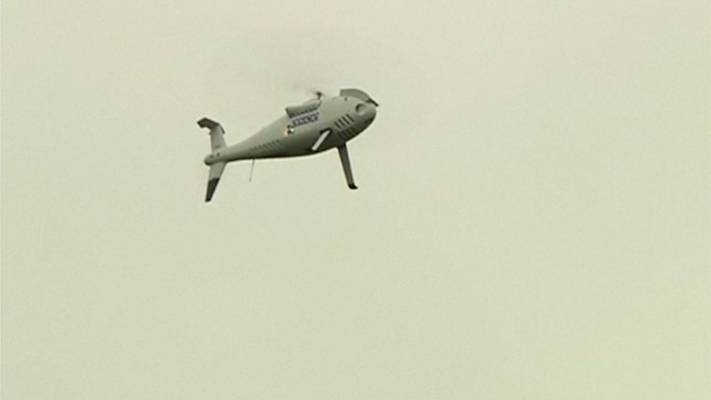 OSCE shows Drones for Ceasefire Monitoring in Eastern Ukraine