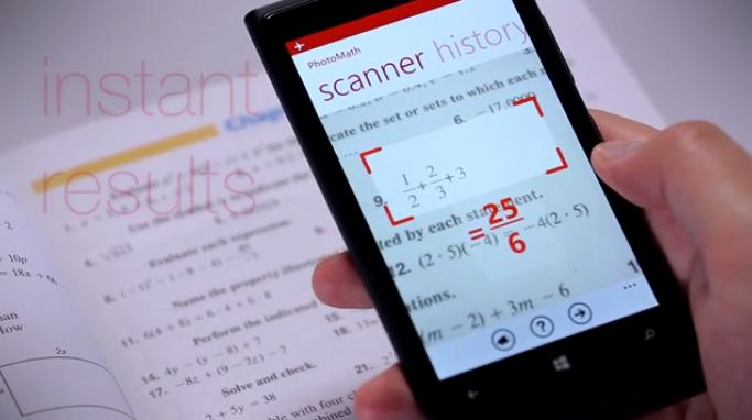 PhotoMath: The \'Slacker\'s Dream\' App Solves Complex
