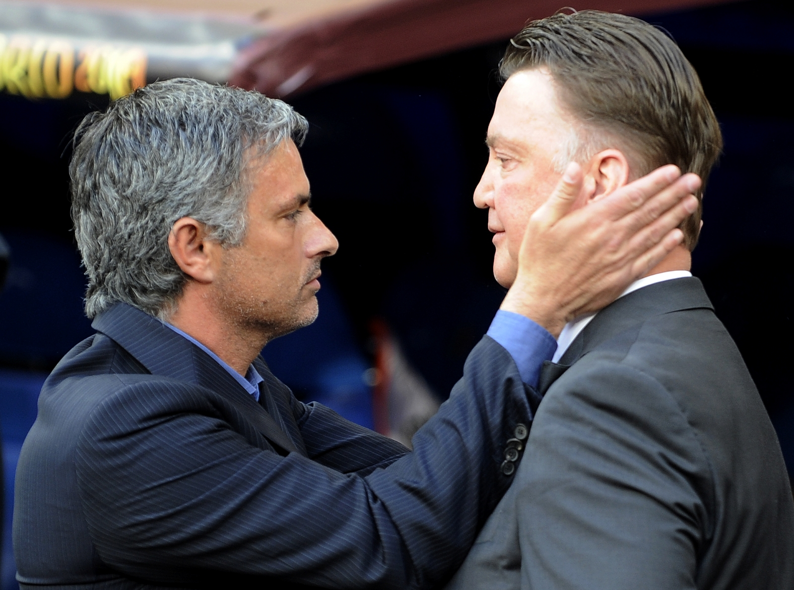 Jose Mourinho and Louis van Gaal