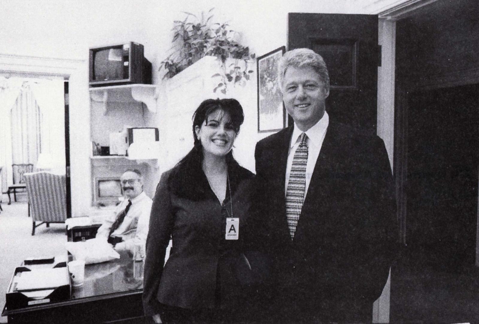 Monica Lewinsky Bill Clinton