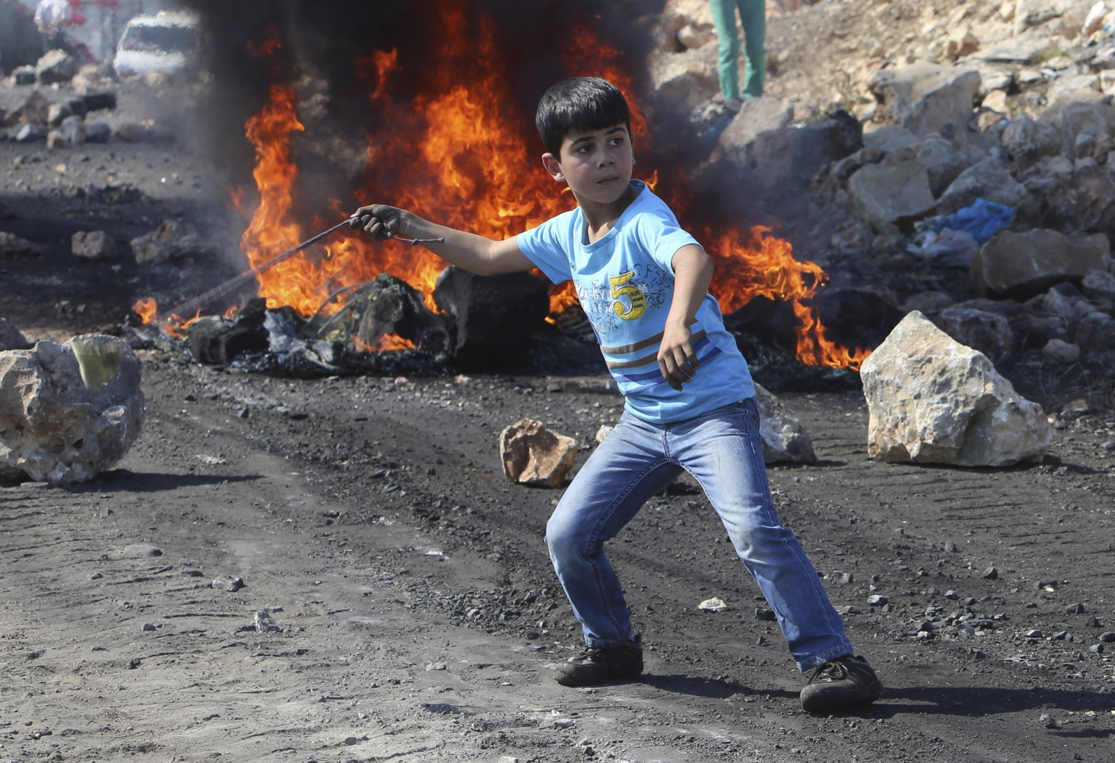 West Bank Clashes Orwah Hammad
