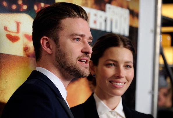 Jessica Biel and Justin Timberlake.