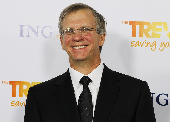 Google executive Alan Eustace pictured at The Trevor Project's Trevor Live fundraising dinner in California in 2011