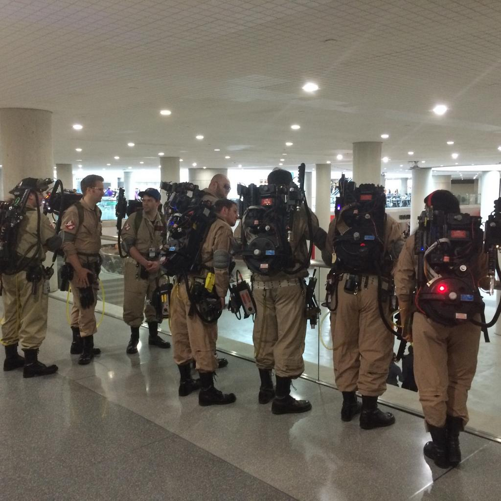 London ComicCon Ghostbusters