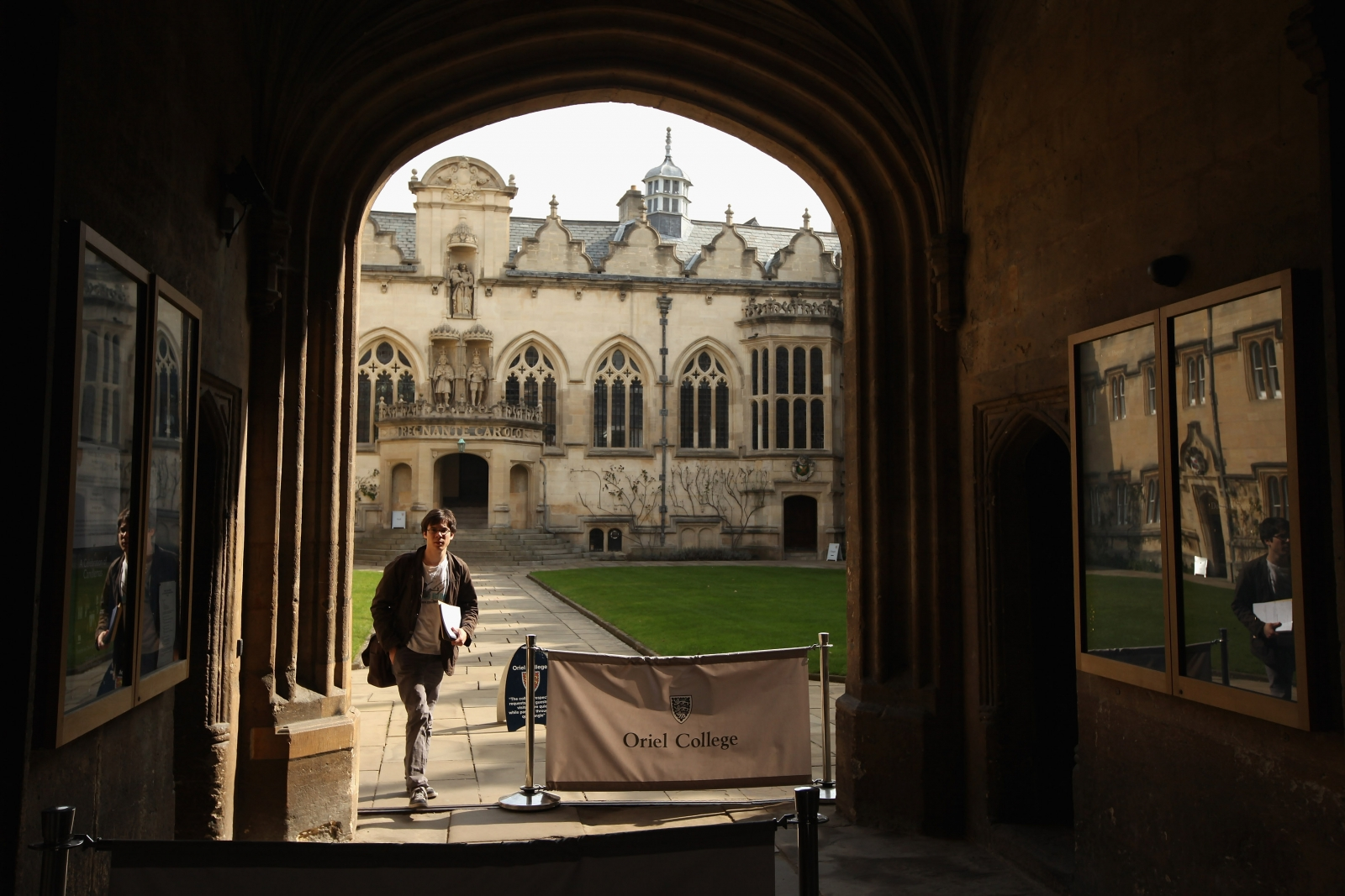 Oriel College, Oxford (Getty)