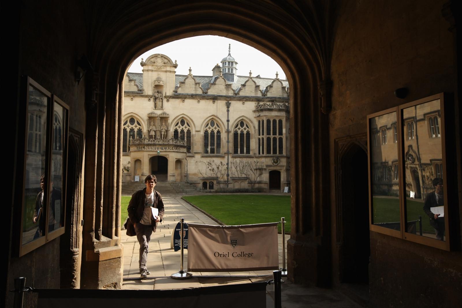 Oriel College, Oxford (Getty)