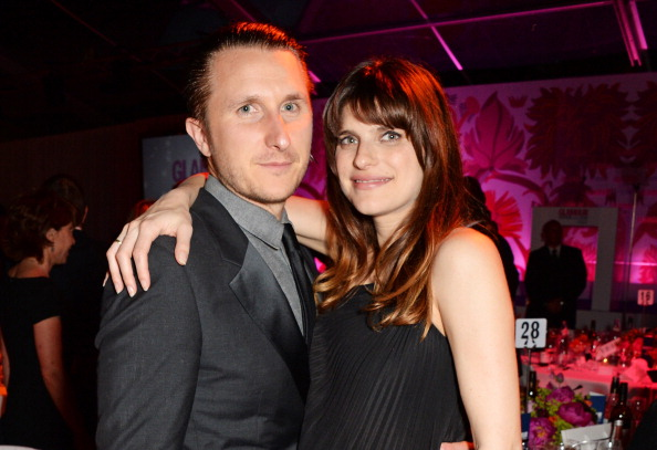 Scott Campbell (L) and Lake Bell