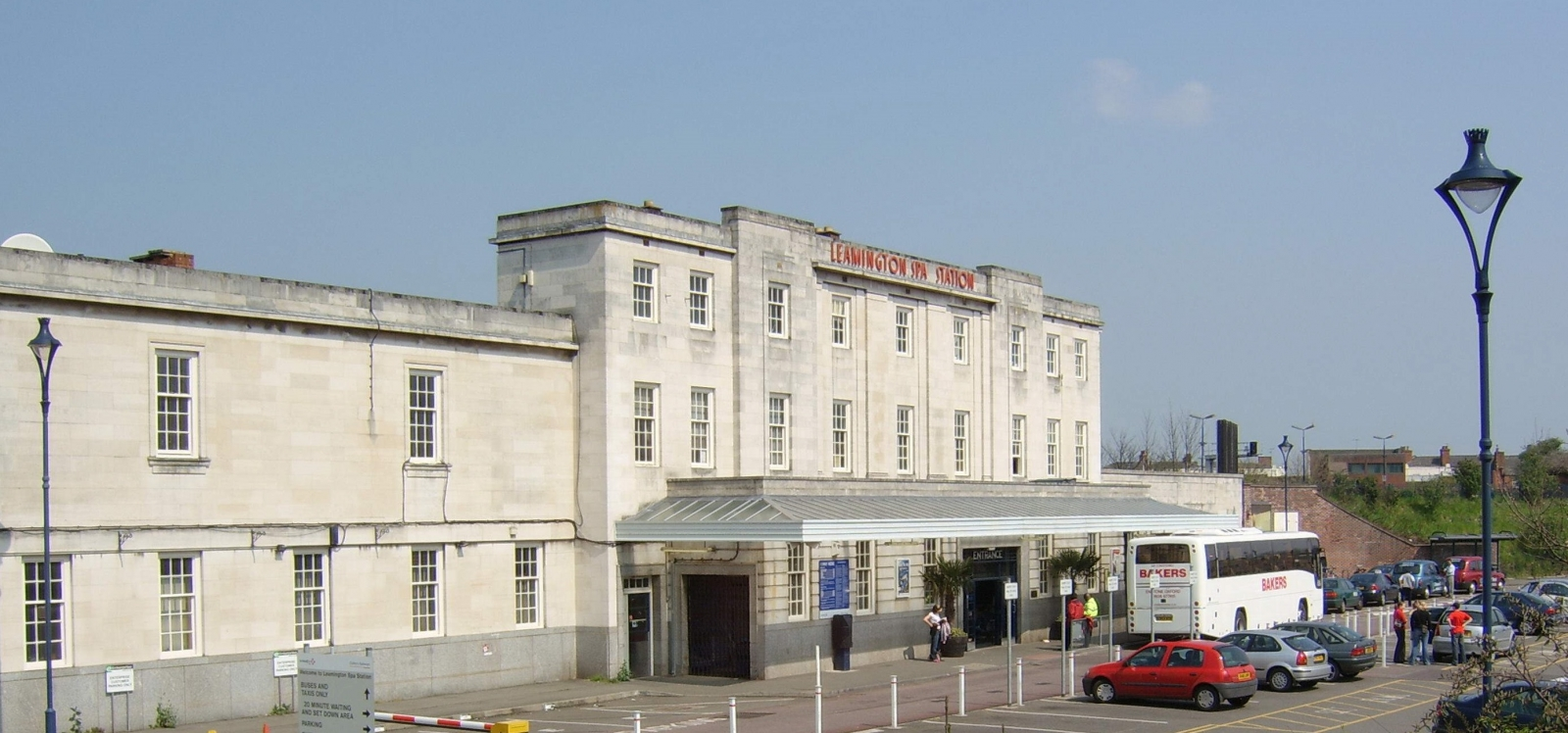Leamington Spa is reputed to be one of the most haunted railway stations in Britain.