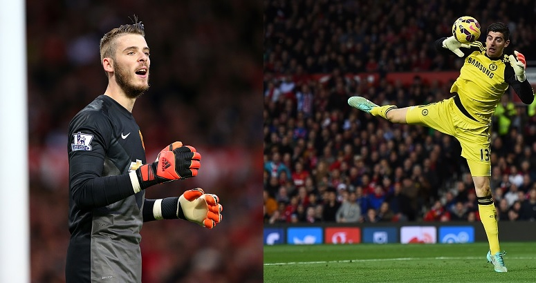 David de Gea and Thibaut Courtois
