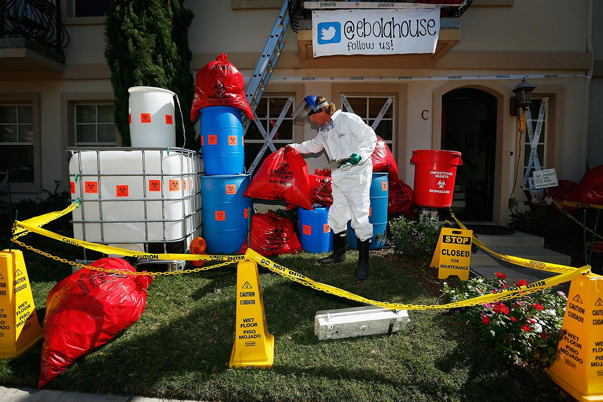 halloween Ebola