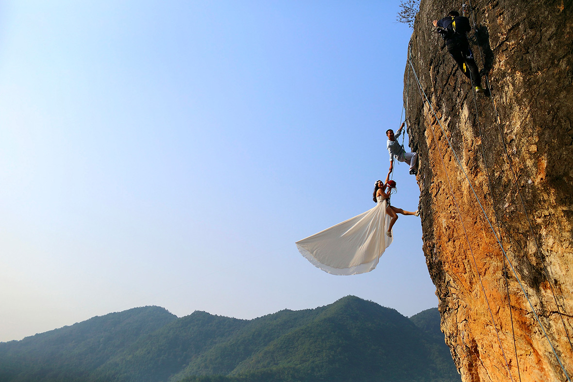 moutain wedding