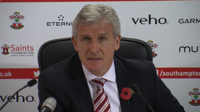 Mark Hughes: We Gave Southampton too much Respect