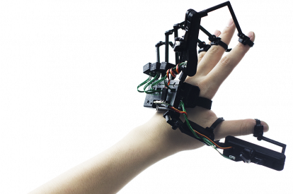 exoskeleton virtual reality glove