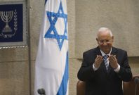 "Israeli President Reuven Rivlin criticized the right-wing over its stance that ""a Jewish democratic state means a democratic state for Jews.\"""