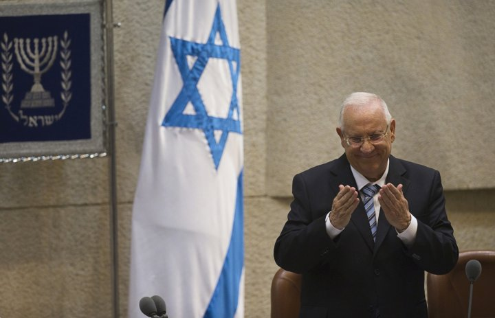 Israeli President Reuven Rivlin criticized the right-wing over its stance that